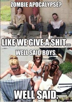 Walking dead: Lively Smiles, The Walking Dead, So True, 3Sayings 3, Dead Guysvsgirls, Thewalkingdead Twd, Cast Awesomeness
