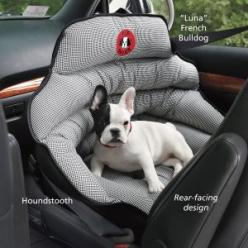 We need this! Crash-Tested Safety Seat - Dog Beds, Gates, Crates, Collars, Toys, Dog Clothing & Gifts: Dog Product, Dog Gate, Dog Car Seat, Dogs Bed