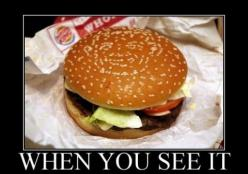 When You See It You Will Shit Bricks #32 - http://www.funnyphotos4u.com/when-you-see-it-you-will-shit-bricks-32/: Optical Illusions, Faces, The Face, Funny Pictures, When You See It, Burgers, Funny Stuff