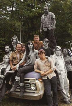 Who's next? Nobody in this pic, that are still live and in color, that's who.: Thewalkingdead, The Walking Dead, Zombie, Seasons, Movie, Twd, Dead Cast, The Originals
