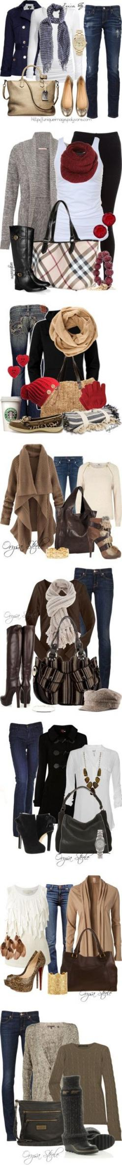 Winter time-I don't think I've pinned this yet, but really...is a Starbucks cup seriously considered an accessory? If so, THAT part of the outfit I can afford!!!: Fashion, Outfit Ideas, Winter Style, Cute Outfits, Cold Weather Outfit, Fall Outfits