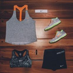 //: Workout Outfit, Inspiration, Nike Outfit, Fitness Outfits, Nike Women, Nike Workout Clothes, Nikes