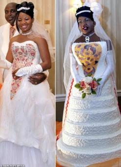 Worst #Wedding Cake FAILS: Tacky wedding cakes! What were they thinking? We'll tell you: NOTHING.....Click the link/pic to see them all!: Life Size, Fail, Weddings, Amazing Cakes, Brides, Funny, Wedding Dress, The Bride, Wedding Cakes