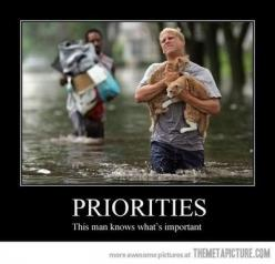 A man saving his cats. So touching. They become like family.: Cats, This Man, Priorities, Animals, Hero, Quotes, Pet, Dog