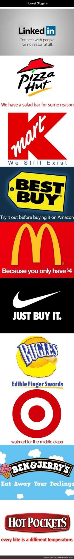 All of these are so true...: Hot Pocket, Giggle, Truth, So True, Honest Slogans, Funny Stuff, So Funny, Hotpocket