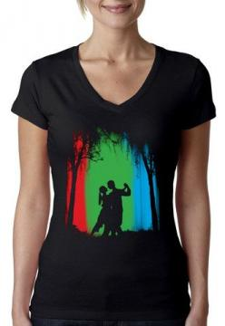 Artisan Tees - The Last Dance V-neck: Dance V Neck, T Shirts, Products