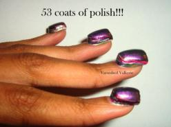 Can you imagine how long this would take to remove? A lot longer than it took to create.: 53 Coats, Nail Polish, Stuff, Nailpolish, Funny, Nails, Things, Wtf