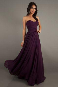 Cheap Prom Dresses/Short Prom Dresses/Ball Gowns/Formal Dress/ A Line Sweetheart Floor Length Chiffon Prom Dresses Ruffles