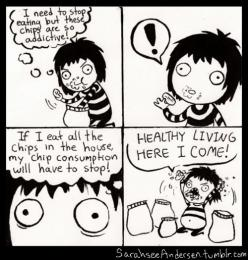Doodle Time... yup that's how you eat healthy!: Sarah Andersen, Giggle, Doodle Time, Funny Stuff, Humor, Things, Sarah Anderson, Healthy Living