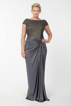 Evening plus size dress. Long dress