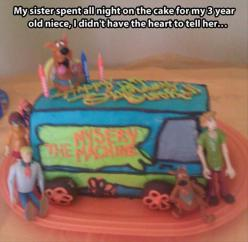 Funny Pictures Of The Day – 82 Pics: Funny Pictures, Cakes, Sister Spent, Funny Stuff, Humor, Funnies, Mysery Machine, Scooby Doo