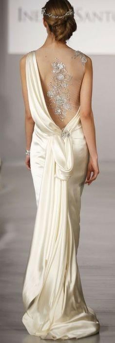 Gorgeous dress: Disanto Spring, Wedding Dresses, Weddings, Dresses, Wedding Gowns, Ines Di, Bride, The Saint