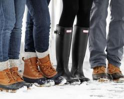 Hunter Wellies and Bean duck boots: Shoes, Bean Boots, Fashion, Beanboots, Hunter Boots, Style, Duck Boots, Fall Winter