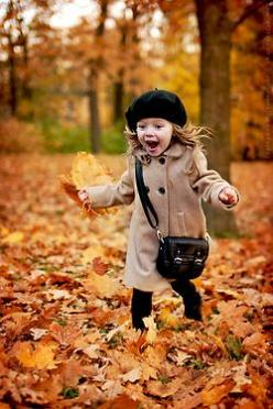 I can see myself dressing my child like this....if I ever have one.: Picture, Little Girls, Idea, Autumn Leaves, Kids Fashion, Fall, Children, Baby, Photography