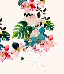 Imaginary Flowers: Floral Illustration, Imaginary Flowers, Flowers Illustration