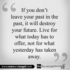 Just because the past didn't turn out like you had hoped, doesn't mean your future can't be better than you had envisioned. In fact, we often grow stronger in the places we were once broken. Because it's not until you're broken for a while that you truly