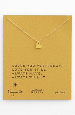 loved you yesterday, love you still, always have, always will... http://rstyle.me/n/ecgynn2bn: Pendant Necklace, Idea, Gift, Pendants, Sparkle Heart, Necklaces, Dogeared Sparkle, Boxed Pendant