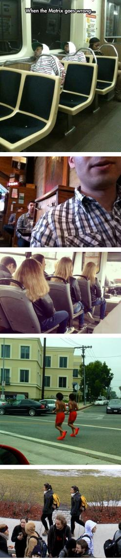 Oh, Another Glitch In The Matrix: Twin, Funny Hilarious, Giggle, Funny Stuff, Wrong, Girl Humor, Glitch In The Matrix