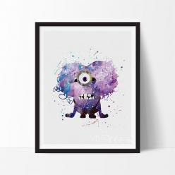 Purple Minion: Decor Ideas, Quotes Funny, Purple Minions, Minions Minion Quotes, Minions Quotes, Minions Ideas, Art Ate, Funny Minions, Mk S Art Pics