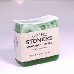 Soap for Stoners - BEST SELLER!: Soaps, River Soap, Gift, Smoke Weed, 420, Mary Jane, Seller, Stoner
