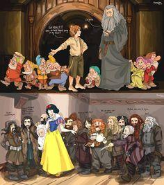 Somebody switched the dwarves!