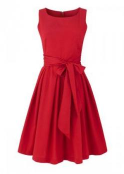 Such a pretty dress -- I think that @Leah Haney needs this, it screams LEAH!: Party Dresses, Little Red, Classy Red Dress, Red Dresses, Christmas Party Dress, Red Holiday Dress