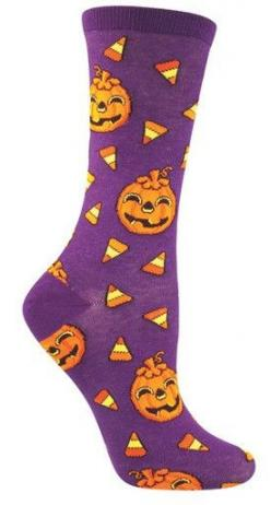 The best parts of Halloween - candy and jack-o-lanterns! I wonder why they call them that? Fits a women's shoe size 5-10.: Fit, Halloween Candy, Jack O'Connell, Smiling Jack, Fall Halloween, Jack Socks, Drawers, Holiday Socks