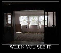 When You see it : Post 016: Scary, Left Corner, Creepy, Stuff, Bottom Left, When You See It, Random, Funny