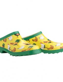 ya know the garden grows better when you wear cute shoes,Chickens Gardener's Clogs ! I LOVE these!: Natural Rubber, Polyester Lined, Garden Boots Shoes, Shoes Chickens Gardener S, By, Garden Clogs, Gardener S Clogs These, Gardener S Clogs Want
