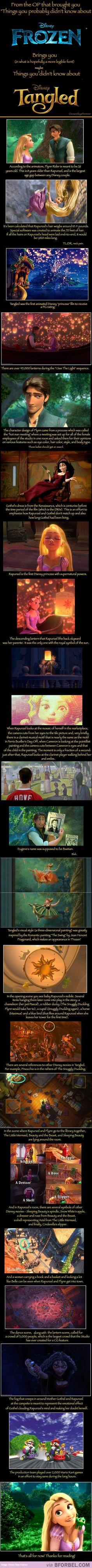 19 Things You Didn't Know About Tangled… I gotta watch again for these things - I didn't notice a lot of them.