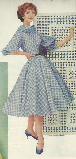 1958: 1950S, Vintage Fashion, Fashion Vintage, Dress Fashion, Vintage Dress, Retro, 50 S Fashion