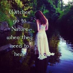 """Nature speaks to you, through voiceless whispers."" S. A. Carter The Kuthun: Magic, Nature, Quotes, Witches, Witchcraft, Witchy Woman, Wicca, Pagan"