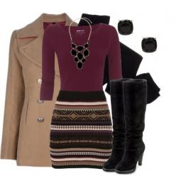 """Sweater Skirt"" by qtpiekelso on Polyvore this is such a good work outfit! love this skirt and it's from Maurices!: Fashion, Sweater Skirts Outfit, Sweater Skirt Outfit, Dress, Winter Outfit, Fall Outfits, Work Outfits, Fall Winter"