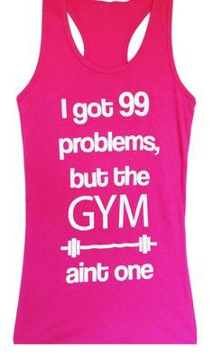 99 Problems #Workout #Tank Top, Pink -- By #NobullWomanApparel, for only $24.99! Click here to buy http://nobullwoman-apparel.com/collections/fitness-tanks-workout-shirts/products/99-problems-workout-tank-top-workout **We are celebrating the launch of our