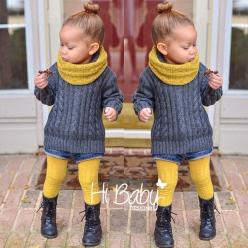 A Touch of Yellow | Kids fashion If I have a daughter one day..so cute: Baby Girl Fall Outfit, Girl Fashion, Kids Fashion, Kids Outfit, Mixed Baby Girl, Kids Fall Fashion Girl, Baby Girl Scarf, Yellow Scarf Outfit, Fall Baby Girl Outfit