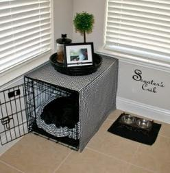 After waiting so long to move our house and Fergie living mostly outside with my grandparents, she definitely deserves this when she comes home <3: Dogs, Scooter S Crib, Cute Ideas, Dog Crates, Scooters, Pets, Puppy, Cribs, Animal