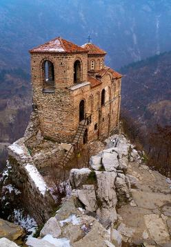 Asenovata Krepost ~ The old church located next to Asenovgrad, Bulgaria. Its built by one of the most famous Bulgaria's kings - Ivan Asen II ( year 1218 to 1241): Ivan Asen, Asen Ii, Old Church, Places, Asenovata Krepost, Asen S Fortress, Famous Bulga