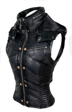 ayyawear leather puma vest - verillas: Ideas, Fashion, Custom Leather, Clothing, Clothes, Jackets, Puma Vest, Costume, Pumas