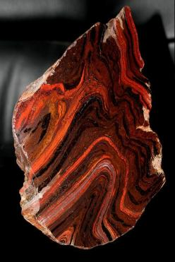 Banded ironstone, Australia (BIFs are so pretty and the remind me of the beginning of life as we know it): Gemstone, Ironstone Formation, Gem Stones, Rocks Minerals, Reigon Western, Banded Ironstone, Photo, Western Australia