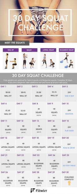 Bikini seasons is nearly here. Take this 30 day squat challenge to whip your butt into shape and trim your inner and outer thighs.: Squat Workout, Big Butt, 30 Day Challenge Squat, Workout Challenge, Fitness Challenge, Workout Thigh, Outer Thigh, Butt Wor
