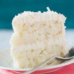 Coconut-Vanilla Bean Cake with Coconut Meringue Buttercream Frosting @Michelle (Brown Eyed Baker): Coconut Cakes, Coconut Vanilla Bean, Buttercream Frosting, Coconut Meringue, Cake Recipes, Meringue Buttercream, Dessert