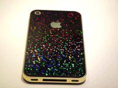 Cool iPhone Cases for Girls | Cool Glittering Phone Case for Cute Girls - Phone Cases - Black ...