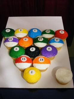 Cupcake Decorating Ideas | Cool Themed Cakes & Cupcake Decorating Ideas For Dad On Fathers Day ...: Cupcakes Cake, Fathers Day Cake, Cupcake Ideas, Fathers Day Cupcakes, Cup Cake, Balls Cupcake, Cupcake Decoration