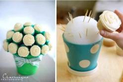 Cupcake Plant: Cupcake Bouquets, Cupcakes, Flower Pot, Food, Cup Cake, Cupcake Flower, Party Ideas, Dessert