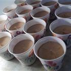 Dangerously Delicious! One package of chocolate pudding mix, half cup of vodka, half a cup of baileys, one cup of milk, whisk together into little cups and refridge for thirty min. top with whip cream! Christmas eve treats: Pudding Shots, Pudding Mix, Cho