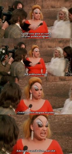 Divine as Babs Johnson #pinkflamingos: Massey Devine John, Pink Flamingos Movie, Babs Johnson, Actor Actress Film Movies, Pink Flamingo Movie, John Waters Divine, Johnson Pinkflamingos, Pinkflamingos Breathtaking I, Divine Pink Flamingos