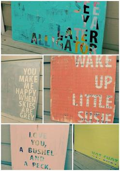 DIY: quotes on canvas @456party It is number 17 on the website. except instead of a painting background you have painted the background: Wall Art, Canvas Art, Canvas Craft, Diy Craft, Diy Wall, Craft Ideas, Easy Diy