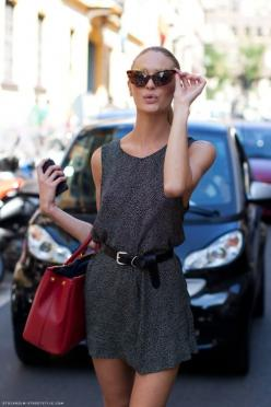 .: Fashion, Inspiration, Cat Eyes, Candice Swanepoel, Dress, Street Style, Outfit, Spring Summer