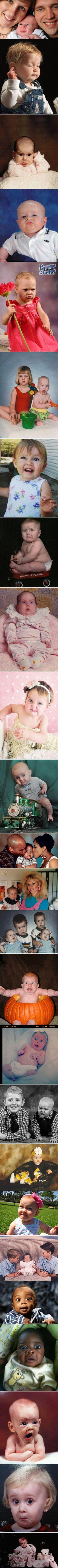 Funny kids and baby photographs taken at the perfectly wrong time. Can't stop laughing: Wrong Time, Perfectly Wrong, Funny Kids Pictures Humor, Funny Stuff, Funny Baby Picture, Funny Babys, Funny Babies