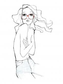 Garance Doré Boutique - The One: Illustrations, Garance Doré, Art, Fashion Illustration, The One, Design, Drawing